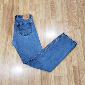 Vintage Levi's 505 Regular Fit Blue Jeans